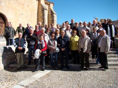 Crónica de la excursión a Maderuelo (Segovia).-15 de octubre de 2016